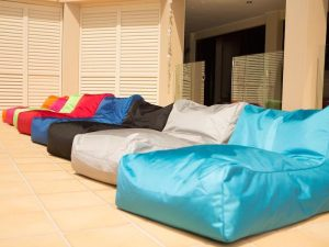 cool outdoor beanbags