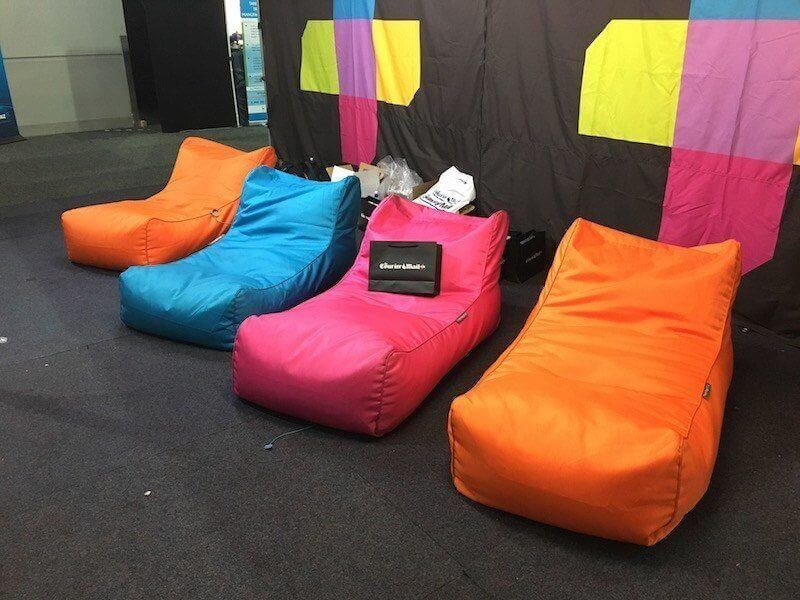 Courier Mail Home Show Bean Bags Supplied By Bean Bags R Us