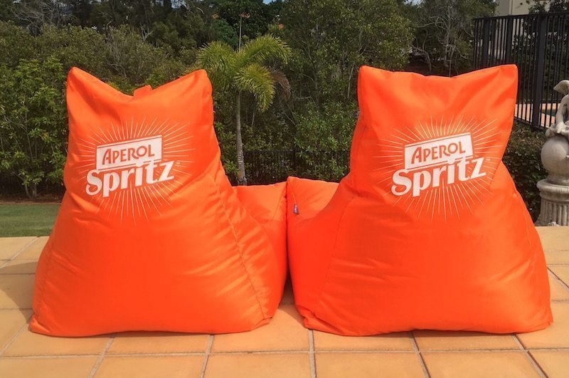 personalised bean bags