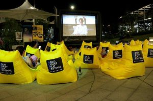beanbags for outdoor cinemas