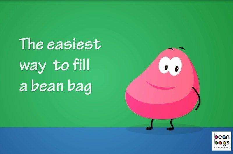 bean bag filling tips