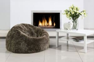 luxury wool beanbags