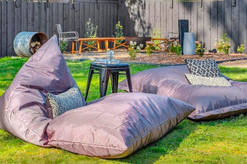 Instant Hotel bean bags