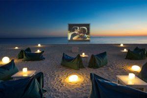 backyard movie theatre