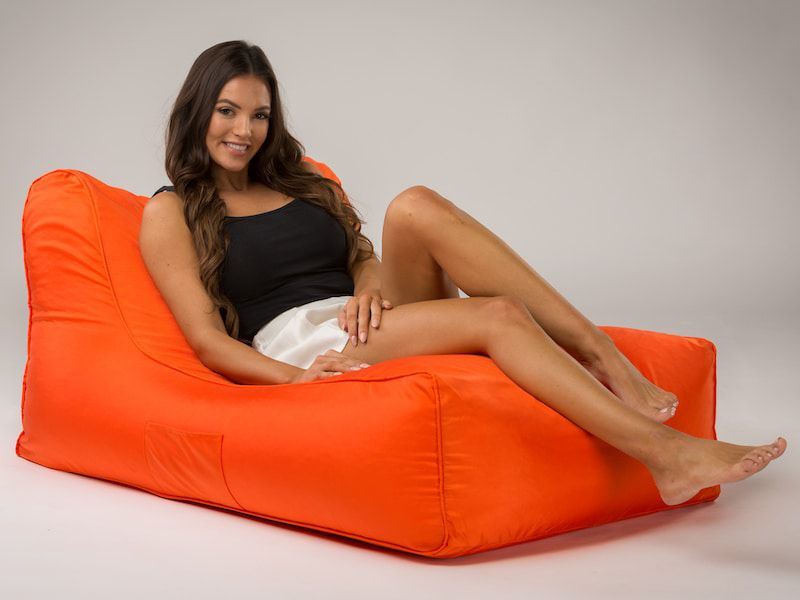 media bean bag lounger