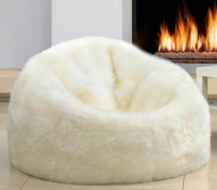 Australian Lambswool Bean Bag Ships Worldwide Bean Bags
