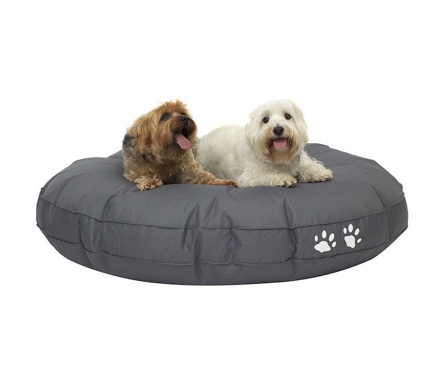 large round dog bean bag bed bean bags r us. Black Bedroom Furniture Sets. Home Design Ideas